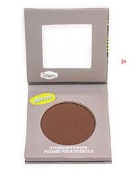 mat poudre à sourcils / ombre à paupières / bronzante palette de maquillage cosmétique professionnelle avec l'ensemble miroir applicateur