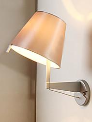tecidos lâmpada de parede rotativo