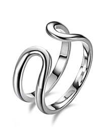 Fine Jewelry New Exaggerated Fashion Charms 925 Sterling Silver Jewelry Opening rings For Women ,High Quality