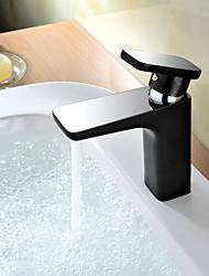 metade cromo contemporâneo&metade pintura de bronze alça banheiro lavatório torneira da pia único quente e fria