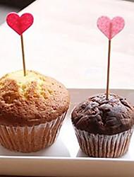 Accessori per feste Accessori decorativi per torte Compleanno/S. Valentino/Anniversario Favola A cuore Non personalizzato Legno