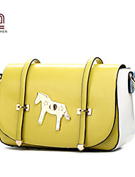 Handcee® Hot Selling Woman PU Fashion College Shoulder Bag