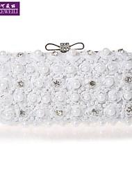 AIKEWEILI®Women's Purse Fashion Luxury Beads Flower Bride Bag Casual All-Match Clutch Bag Evening Bag