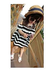 Kid's Dress , Chiffon Casual/Cute/Party Sallay