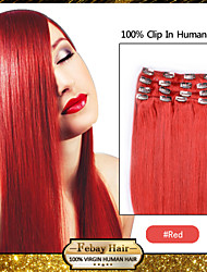 clip in hair extensions rood