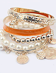 New Arrival Fashional Multilayer Pearl Bracelet