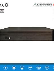 Cotier® 64CH 960P 2U NVR /9SATA+1 E-SATA HDD Ports/Suppotr 3G,wifi/Network NVR N64/2U-9