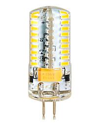 ywxlight® de la g4 7w 72smd 3014 650lm chaud blanc froid maïs ampoules ac / / DC12-24V