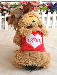 FUN OF PETS®Teddy Bear Costume Coat with Pants for Pets Dogs (Assorted Sizes and Colours)