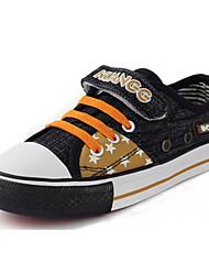 Zapatos de bebé - Sneakers a la Moda - Exterior / Casual - Tela - Negro