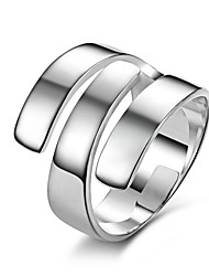 Jewelry Womens Rings Fashionable New Exaggeration Genuine 925 Sterling Silver Jewelry Europe &America Wedding Ring