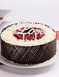 Ceramic Love Cake Topper