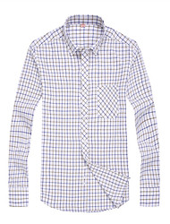 2015 Business Shirt with Casual Style Oxford Fabric Sleeve Men Dress Shirt Brand New Men Clothes 108 3202 SP001592