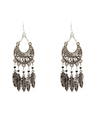 Fashion Women Vintage Beaded Drop Earrings