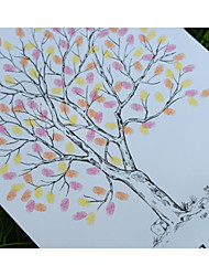 Finger Print Wedding Tree, Wedding Guest Book Alternative