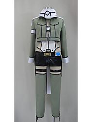 Cosplay Costumes - Sword Art Online - Outros - Top/Peitoral/Shorts/Peça para Cabeça/Luvas/Protecção de Joelhos/Mais Acessórios