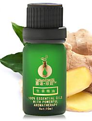 gengibre puro óleo essencial aliviar pele 10ml
