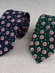 SKTEJOAN®Men's Business Wedding Fashion Cotton Tie (Width: 6CM)