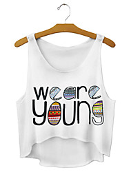 Women's We Are Young Crop Top