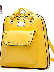 Handcee® Hot Selling Good Quality PU Woman Vintage Design Backpack Bag
