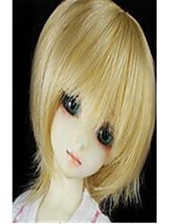 """Tita 1/4 7-8 """"dal msd pullip bjd sd luts souper dollfie poupée courte perruque blonde"""
