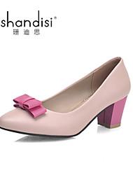 Women's Shoes Chunky Heel Heels Sandals Casual Pink/Beige