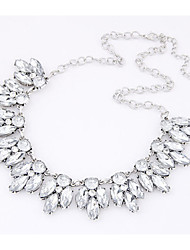 Necklace Choker Necklaces Jewelry Party / Daily / Casual Fashion Alloy Silver 1pc Gift