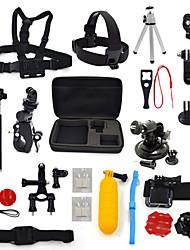 kit-23-em uma acessórios para GoPro Hero 4 3 + / 3/2/1 camera ourspop k20 gp-