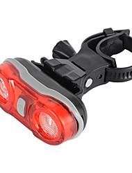 Rear Bike Light,2-EYE E-002 2-LED Red 3-Mode Bike Taillight - Red + Black,Safety