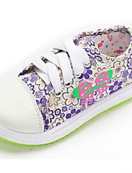 Baby Shoes - Casual - Sneakers alla moda - Di corda - Viola / Rosso