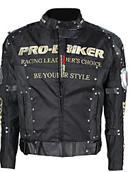 PRO-BIKER Motorcycle Riding Jacket  Outdoor Sports Shockproof Protective Racing Jacket  (Black , M-XXXL)