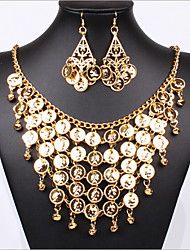 MISS U Women's All Matching Vintage Elegant Necklace(Or Hair Band Two Used) & Earrings Suit