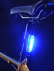 caoku 3 modo de 100 luces de cola de la batería 1 celular ciclismo baterías recargables 200 azul