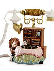 Novelty Fashion Desk Style Home Decoration Antique Telephone