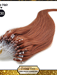 """20"""" color #30 many colors availale 100S Micro Loop Remy Human Hair Extensions"""