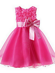2015 BHL Retailed Or Wholesale New Little Girls Evening Party/ Wedding Princess Dress For SZ 3~12Y