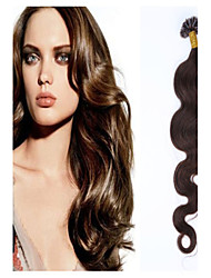 Klasse 5a 1pc / lot 20inch / 50cm multi wellig Fusion / u spitzen Haarverlängerung Menschenhaar spinnt 1g / s