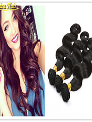 3pcs muito 100% cabelo onda / body brasileiro virgem do cabelo humano do weave remy brasileiro do cabelo de trama 3 feixes de cabelo