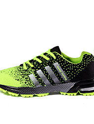 Running/Hiking Men's Shoes Tulle Black/Green/Red