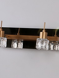 Crystal/Bulb Included Bathroom Lighting , Modern/Contemporary G4 Metal