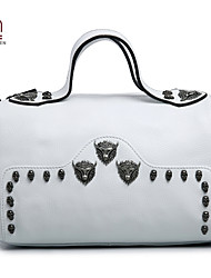 Handcee® Best Seller Woman Bag Real Leather Hippie Style Skull Women Shoulder Bag
