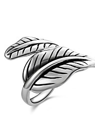 Summer Jewelry New Exaggerated Fashion Charms 925 Sterling Silver Jewelry Leaf rings For Women ,High Quality