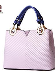Handcee® Cheap Woman Good Quality PU Elegance Lady Tote Bag