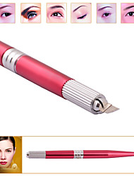 Professional 3D Permanent Makeup Eyebrow Manual Pen Positioning Pen Tattoo Gun Machine Pen Rack DSH-0023