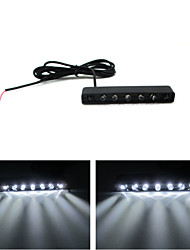 7 Hat Light / DC12V Motorcycle License Plate Lights Decorative Lights / LED Light Scattering