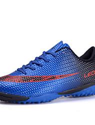 Chaussures Bleu / Rouge / Orange PVC Football Homme / Femme