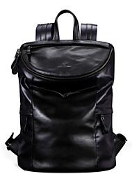 paño de Oxford de cuero genuino diseño único negro bolso ocasional de la vendimia mochila mensajera originales