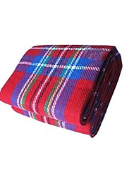 Tapis de camping/Tapis de pique-nique ( Jaune/Vert/Rouge/Bleu )Résistant à l'humidité/Isolation thermique/Etanche/Résistant à la