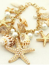 Starfish Conch Shell Bracelets Mixed Multi-Element Bracelet