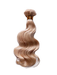 Smilco Hair 613 bleached Blonde Brazilian Remy Human Hair body wave weaves wavy extensions machine weft 1 bundle